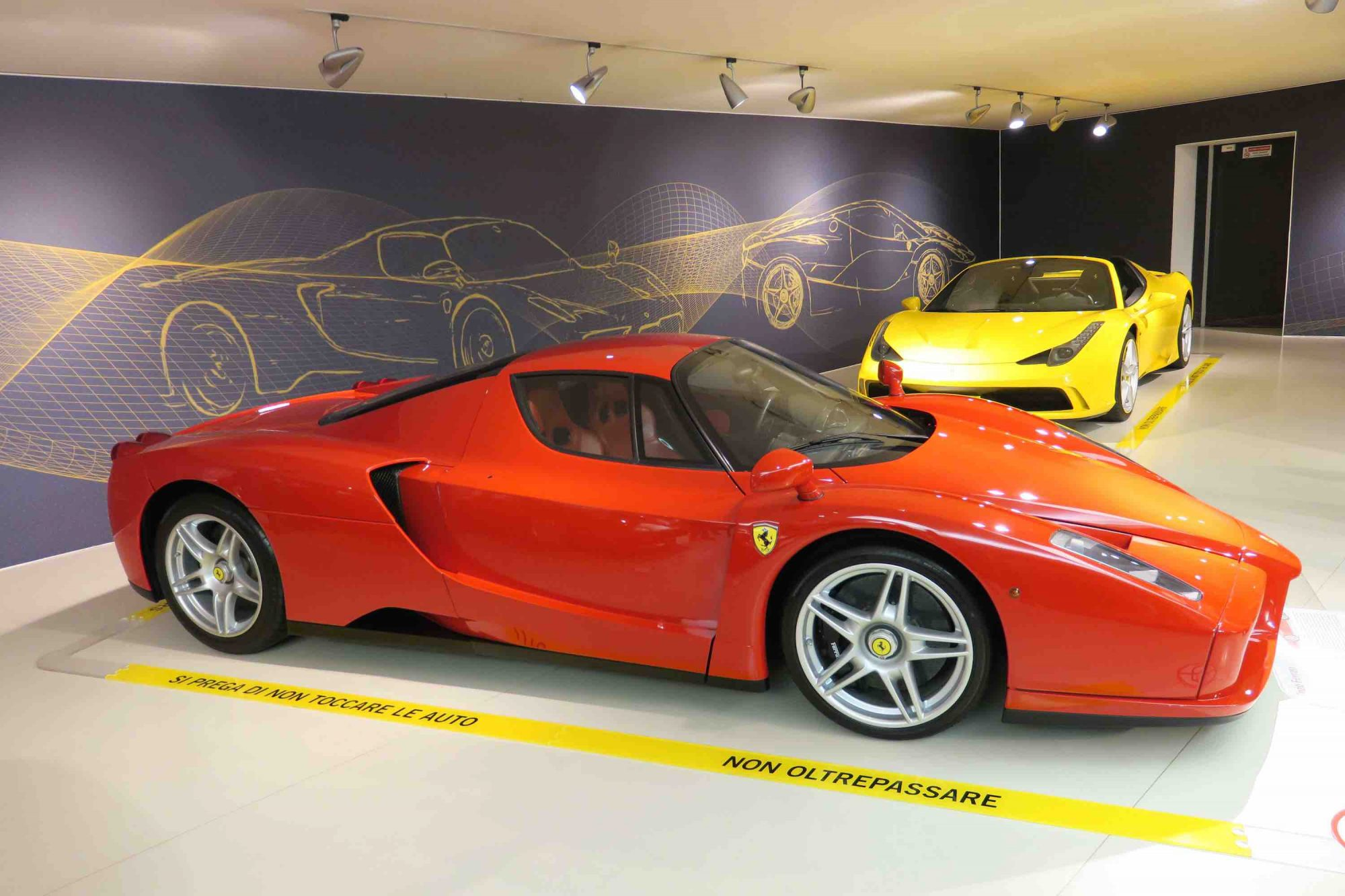 Test Drive With Ferrari Or Lamborghini In The Hills